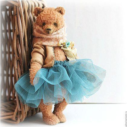 Teddy bear / Мишки Тедди ручной работы. J'Adore. Эля Волкова. Интернет-магазин Ярмарка Мастеров. Охра, балерина, молочный, шплинтовое соединение