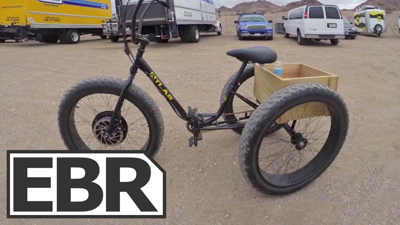 E-BikeKit E-Trike Kit Video Review - Electric Sun Bicycles Fat Trike Con...