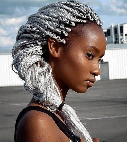 Top 20 All the Rage Looks with Long Box Braids #longboxbraids
