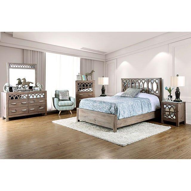 Best Zaragoza Queen Bed Collection Cm7585Q Furniture 400 x 300