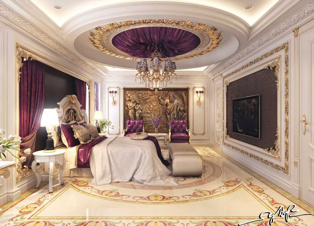 Purple Gold Bedroom Ideas Excellent Decor Black Picture Luxurious Bedrooms Royal Bedroom Luxury Bedroom Master