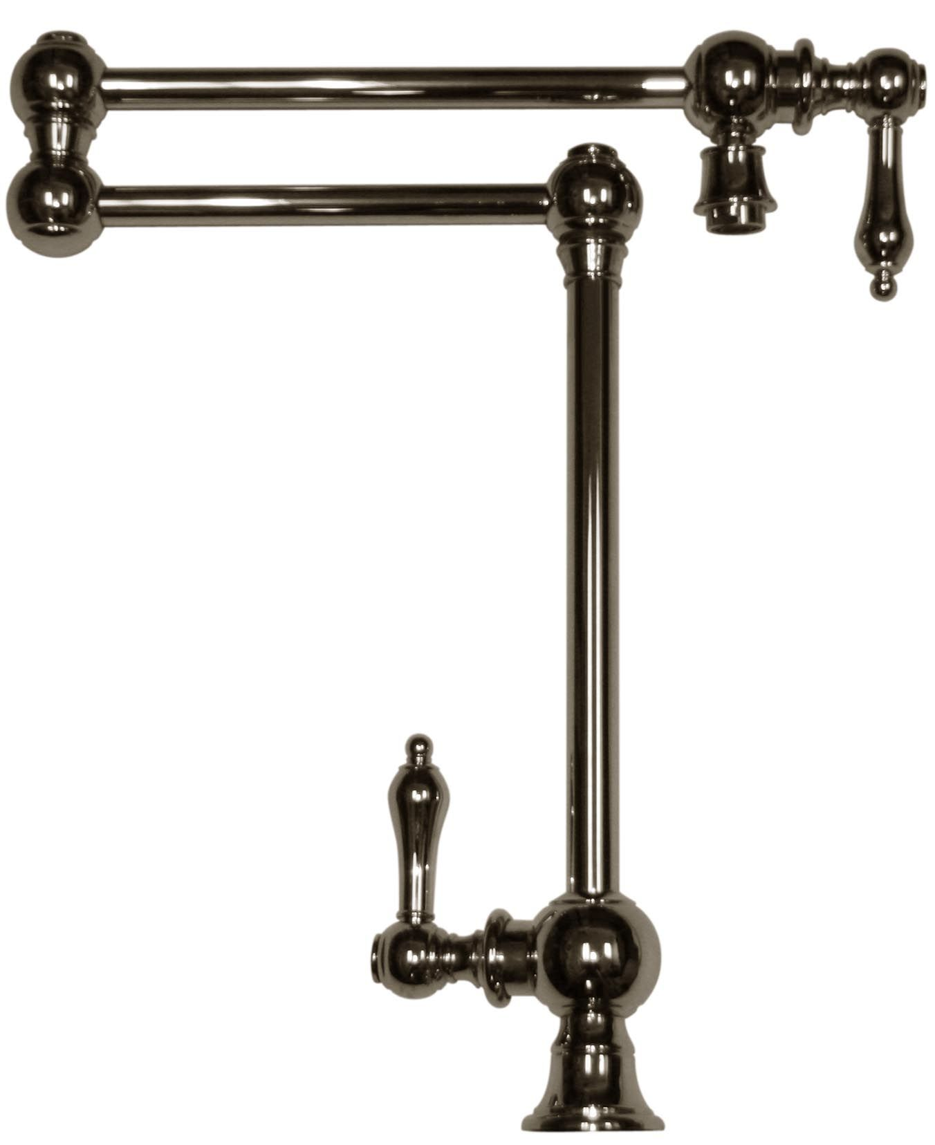 Patented traditional deck mount vintage iii pot filler Pot filler faucet
