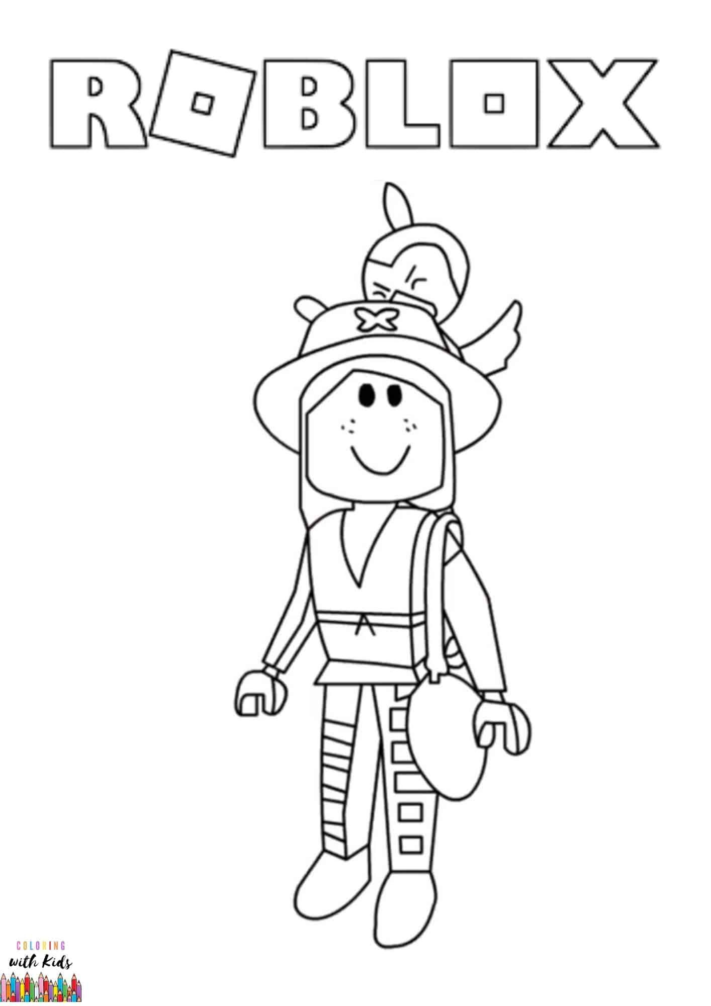 Roblox Category Coloringwithkids Com Cute Coloring Pages Coloring Pages Witch Coloring Pages