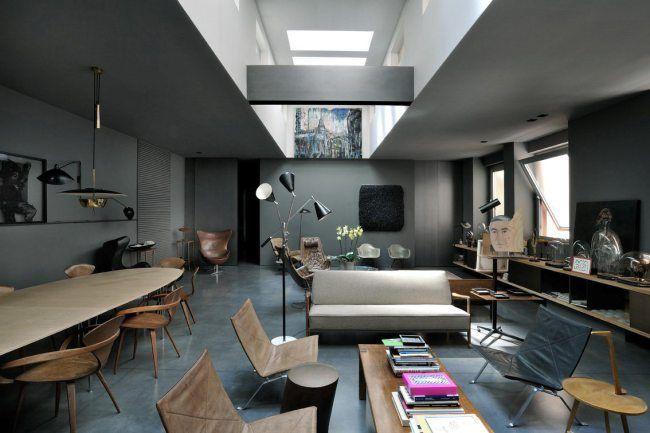 Lappartamento di Maurizio Pecoraro a Milano design Dordoni