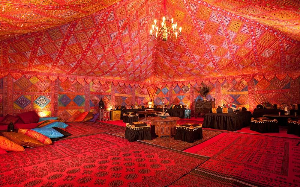 Colourful Moroccan themed interior u2013 image courtesy of the Arabian Tent Company & Coco wedding venues slideshow - arabian-tent-company-arabian-tent ...