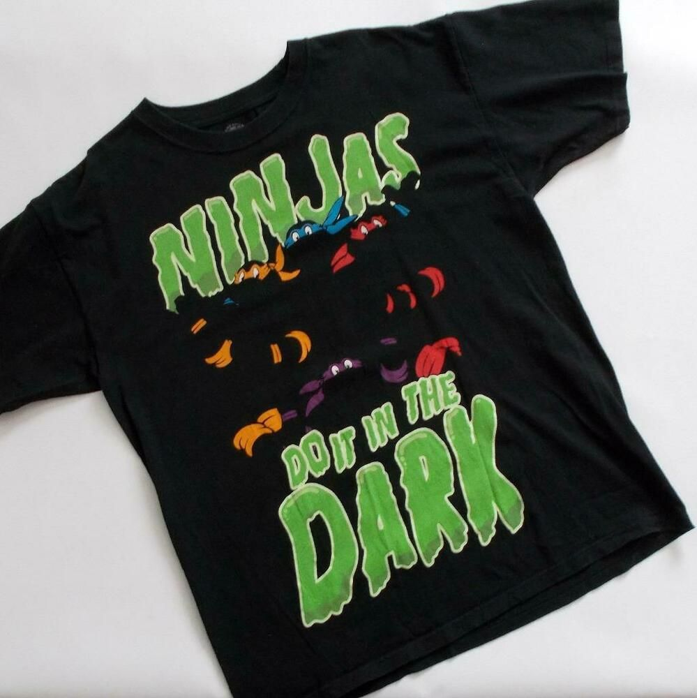 2020 Nickelodeon Tmnt Halloween Teenage Mutant Ninja Turtles Mens T Shirt Ninjas Do It In The Dark