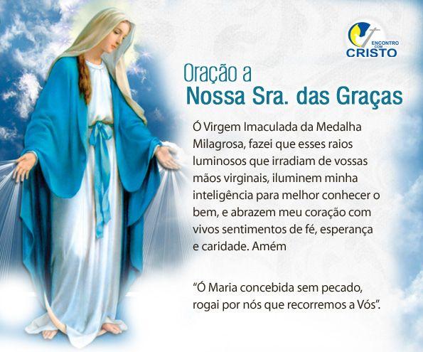 Oração Nossa Senhora Das Graças Da Medalha Milagrosa Pesquisa
