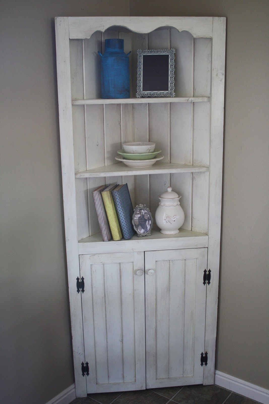 Captivating Corner Hutch...I Have One In My Garage Attack From Our Kitchen Rip