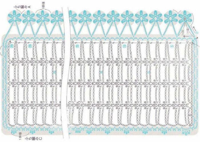 Patron Bufanda Flores Colgando - Patrones Crochet | cro-puntadas ...