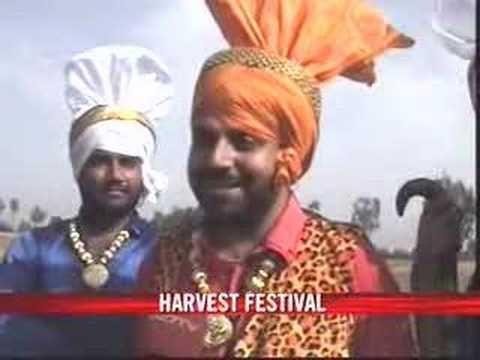 Le festival Sikh des moissons au Penjab