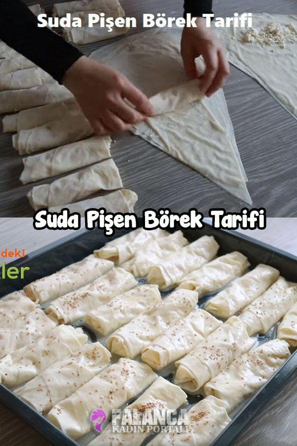 Suda Pişen Börek Tarifi   Renkli Hobi