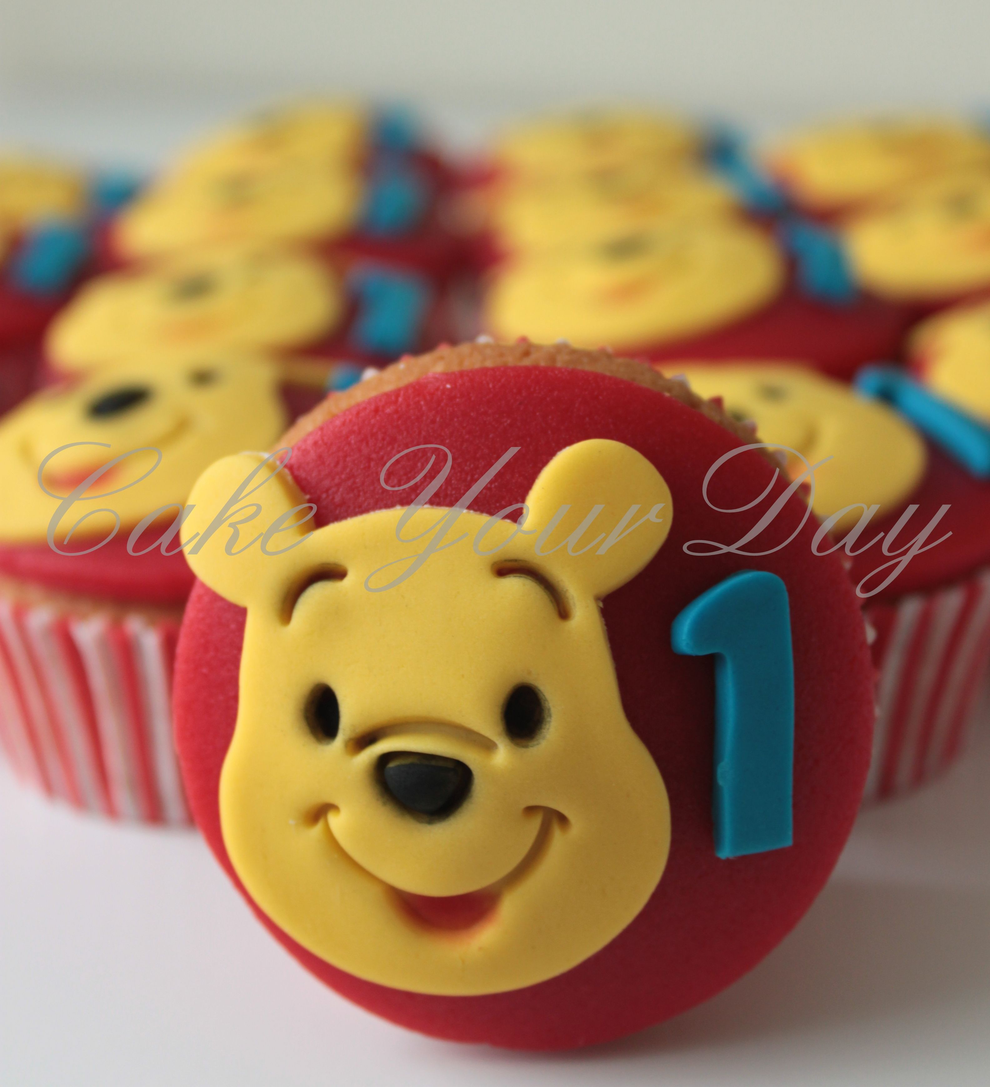 Winnie Pooh Cupcakes Utrecht