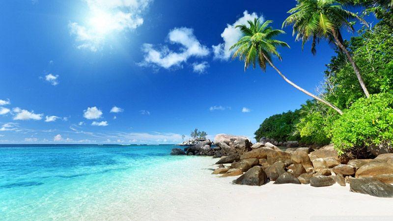paisajes bonitos de verano playa paradisiaca exotica barca imagen ...