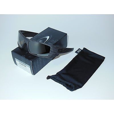 c0cb79e2dd0 New 2ND Oakley Gascan Sunglasses Woodgrain Tungsten Iridium POLARIZED Gas  Can