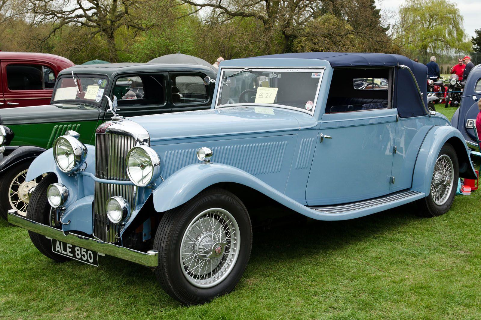 1933 Alvis Crested Eagle drophead coupé | 1931 to 1940 CARZ ...