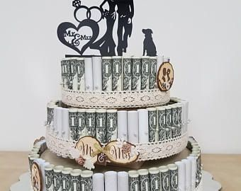 MONEY CAKE Four Tier Graduation Class of 2017 A Good ideas