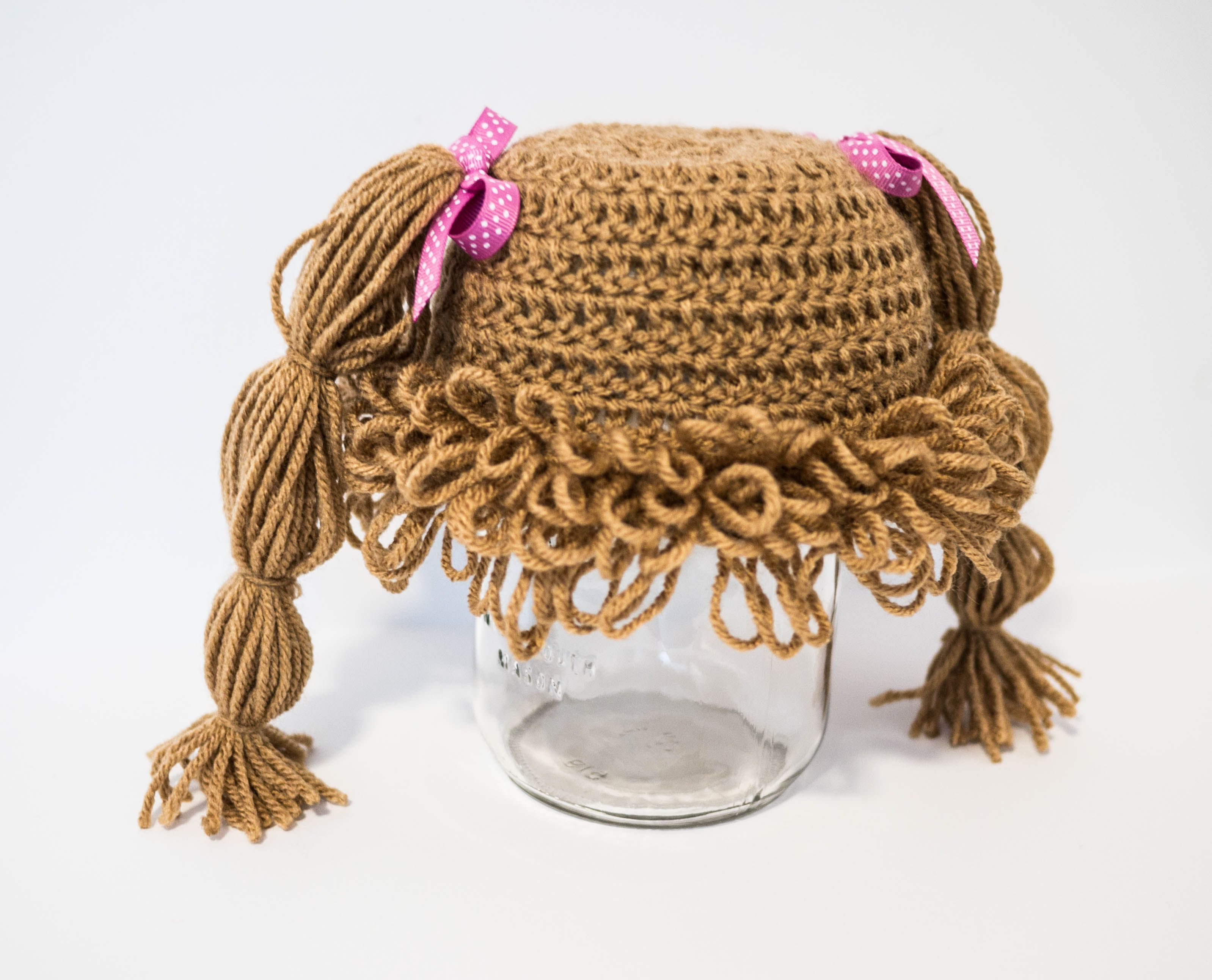 Cabbage Patch Hat Crochet Pattern Free Cool Design Inspiration