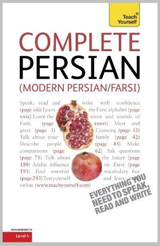 Complete Modern Persian Farsi Teach Yourself Teach Yourself