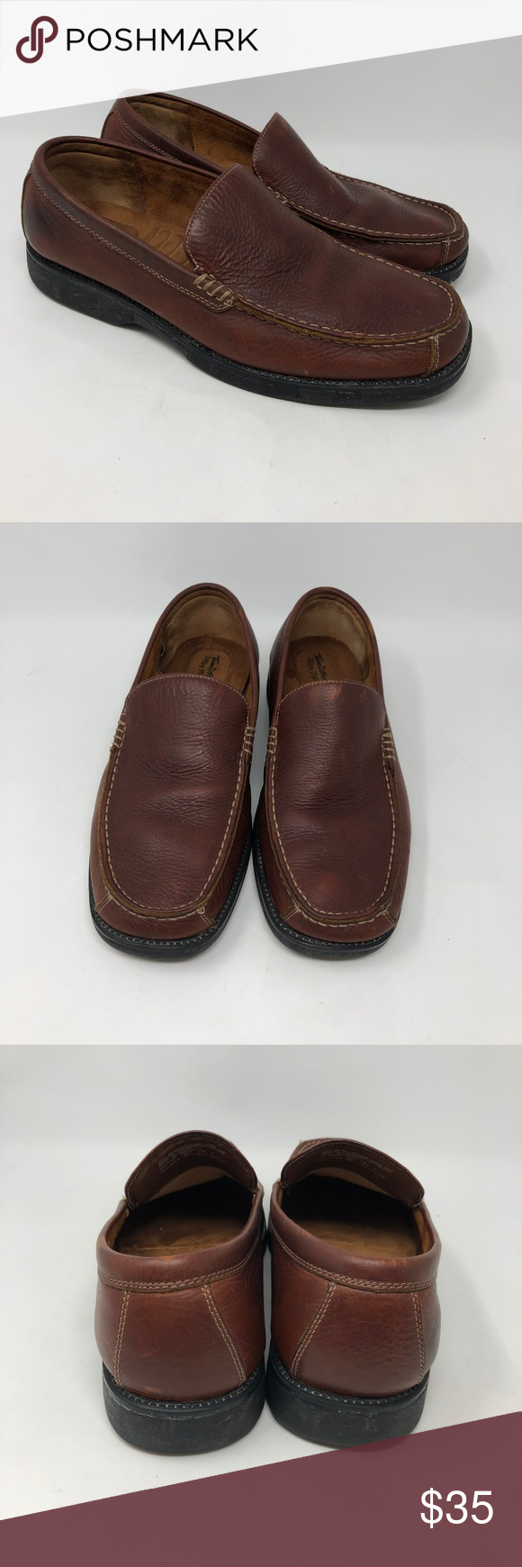 1d0ca5c4f37 Thom McAn Brown Leather Comfort Loafers 13 -Thom McAn brown leather ...