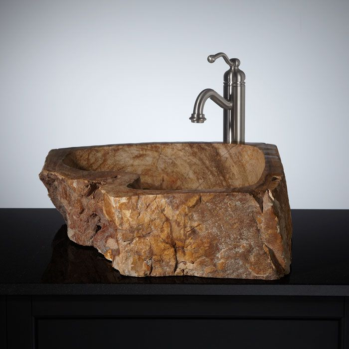 Bathroom Furniture, Fixtures And Decor. Bathroom FurnitureBathroom  VanitiesBathroom IdeasSinksBar InteriorPetrified WoodCowgirl ChicVessel ...