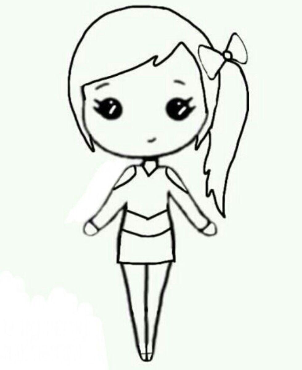 Dibujos Faciles De La Amistad Buscar Con Google Cartoon Girl Drawing Chibi Girl Drawings Kawaii Drawings