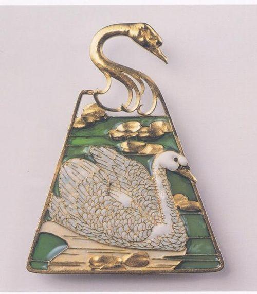 Swan Pendant - Rene Lalique