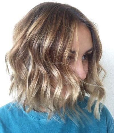 Honig Blonde Frisur Für Dünnes Haar Haarfarbe Pinterest Dünnes