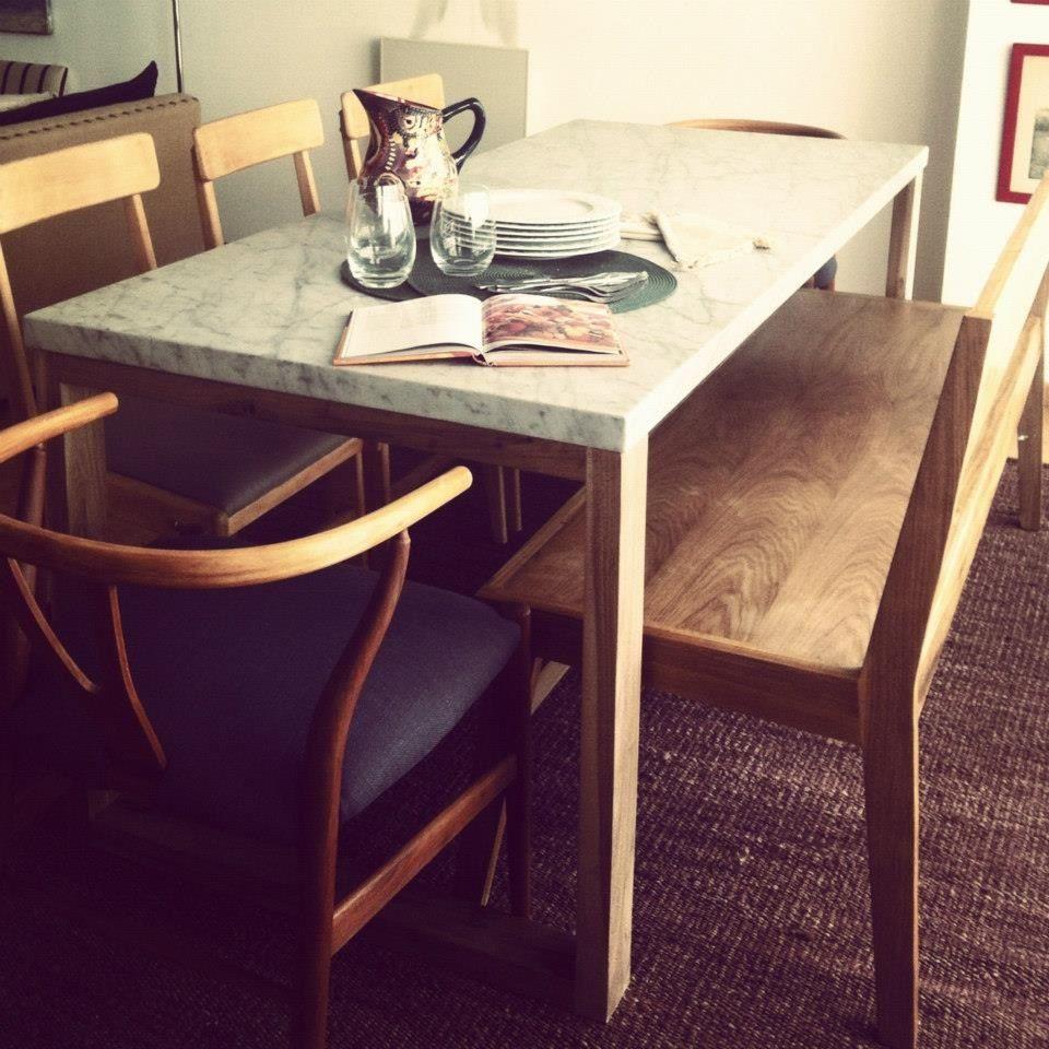 Mesa tapa marmol | Mesa exterior | Pinterest | Mesas, Comedores y ...