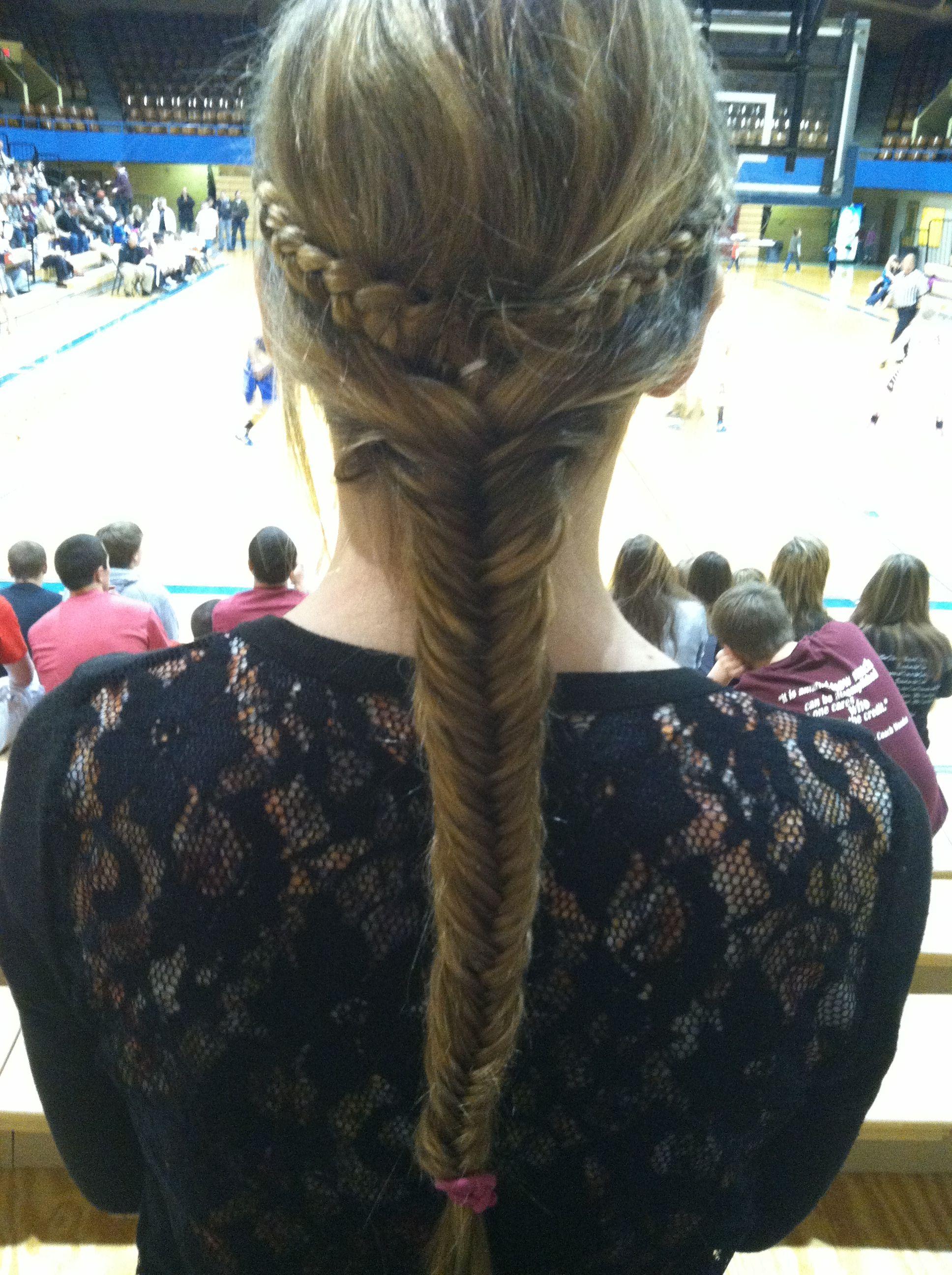 long braided fishtail <3 @Ashton Bjur