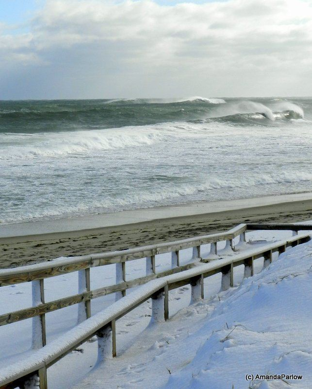 Snow On The Beach ~ Cape Cod