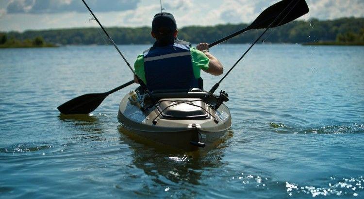 Sun Dolphin Excursion 10 Fishing Kayak Sit in fishing