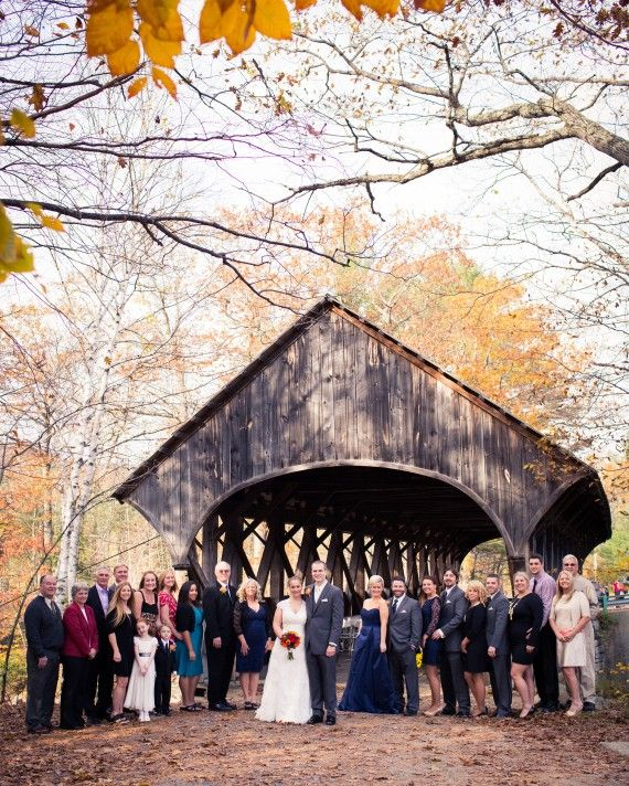 Surrounded by trees that turn fiery shades come fall, this beauty dates back to 1872 and straddles the Sunday River. It only fits 50 loved ones for the ceremony and is always open to the public, but the Newry town office in Maine doesn't charge usage fees and manages a special-events calendar to prevent battles of the bridal parties. For more information, call 207-824-3123.