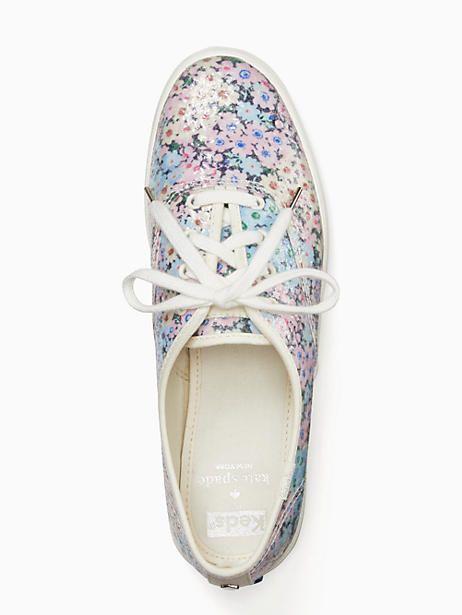 f2ae986b9318 Keds X Kate Spade New York Champion Daisy Garden Glitter Sneakers ...