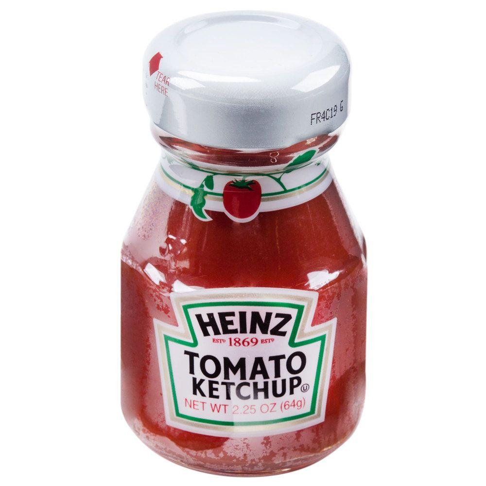 Heinz Ketchup 2 25 Oz Mini Bottle 60 Case Ketchup Heinz Ketchup Ketchup Bottles