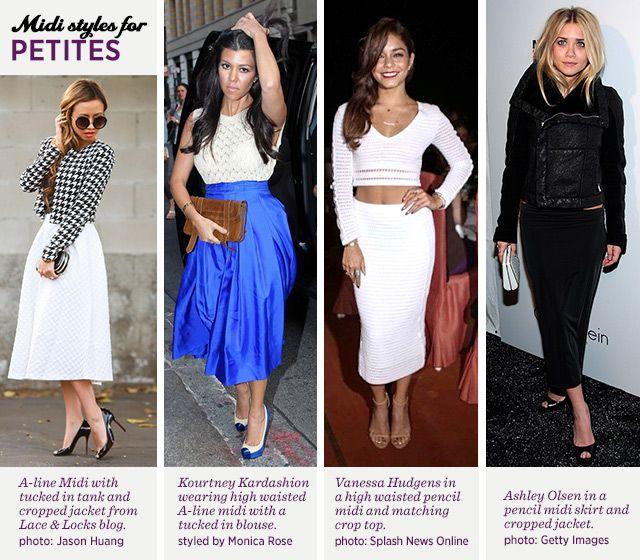 c2e8074ff Midi Skirt for Your Body Type: Petite | The Style Canvas | Midi ...