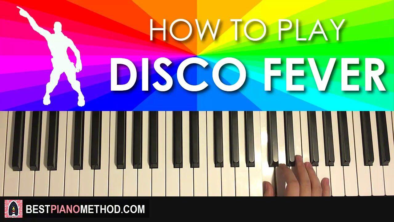 How To Play Fortnite Disco Fever Dance Music Piano Tutorial