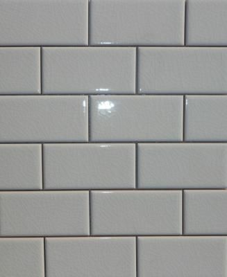 2 Quot X 4 Quot Adex Hampton Crackle Subway White Tile Flat