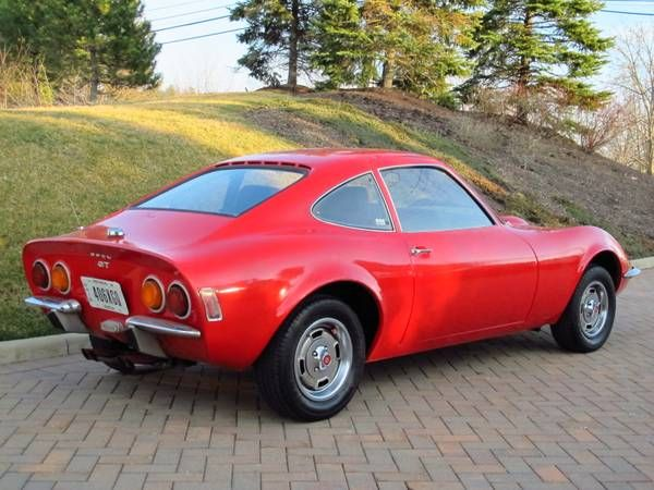 Inexpensive Rolling Resto Candidate 1971 Opel Gt Car Pictures