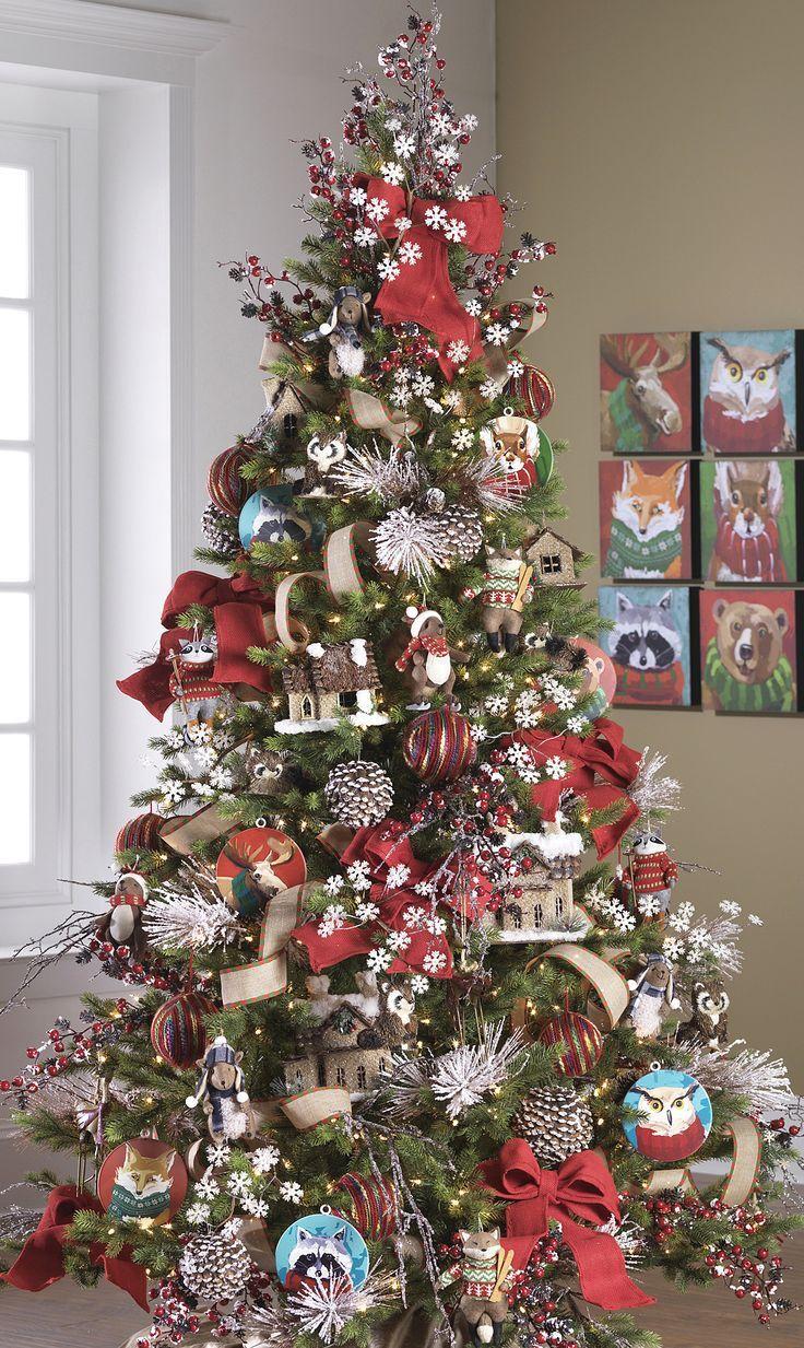Ideas Para Decorar El Arbol De Navidad Decoracion Arbol De Navidad Navidad Y Decoracion Navidad