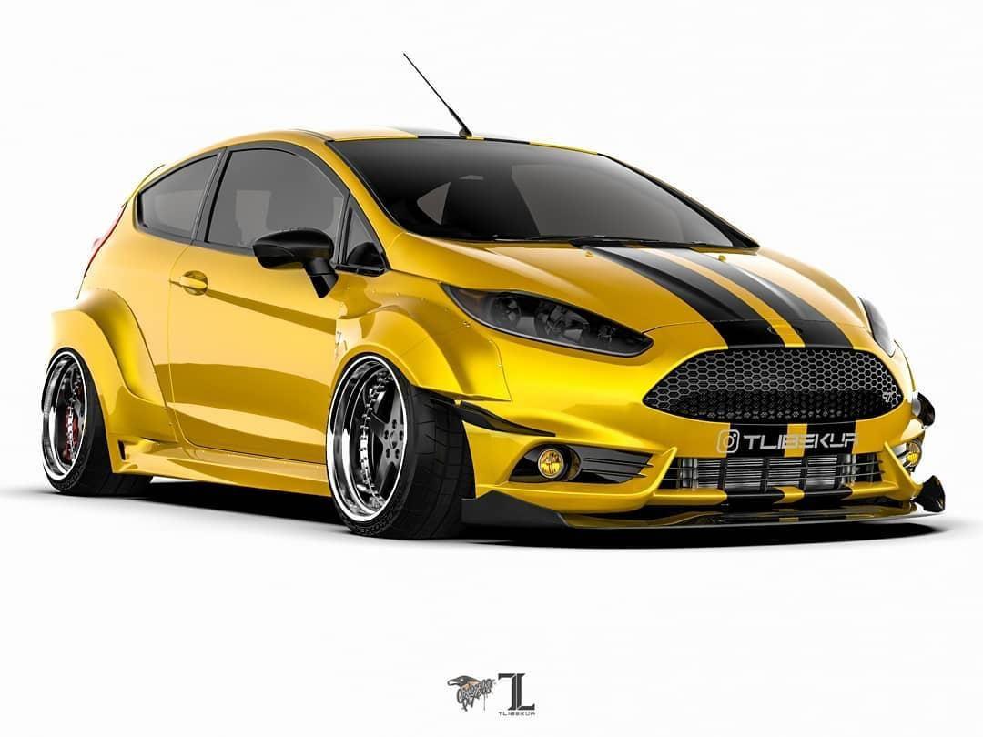 Ford Fiesta Mk7 3dr Wide Body Kit Krotov Pro In 2020 Wide Body Kits Ford Fiesta Ford Fiesta Modified