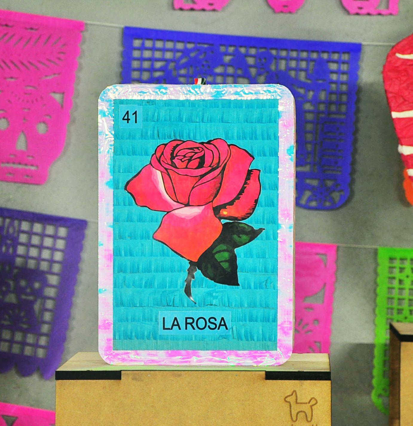 Piñata lotería mexicana #rosa #piñata #loteria #mexicana ...