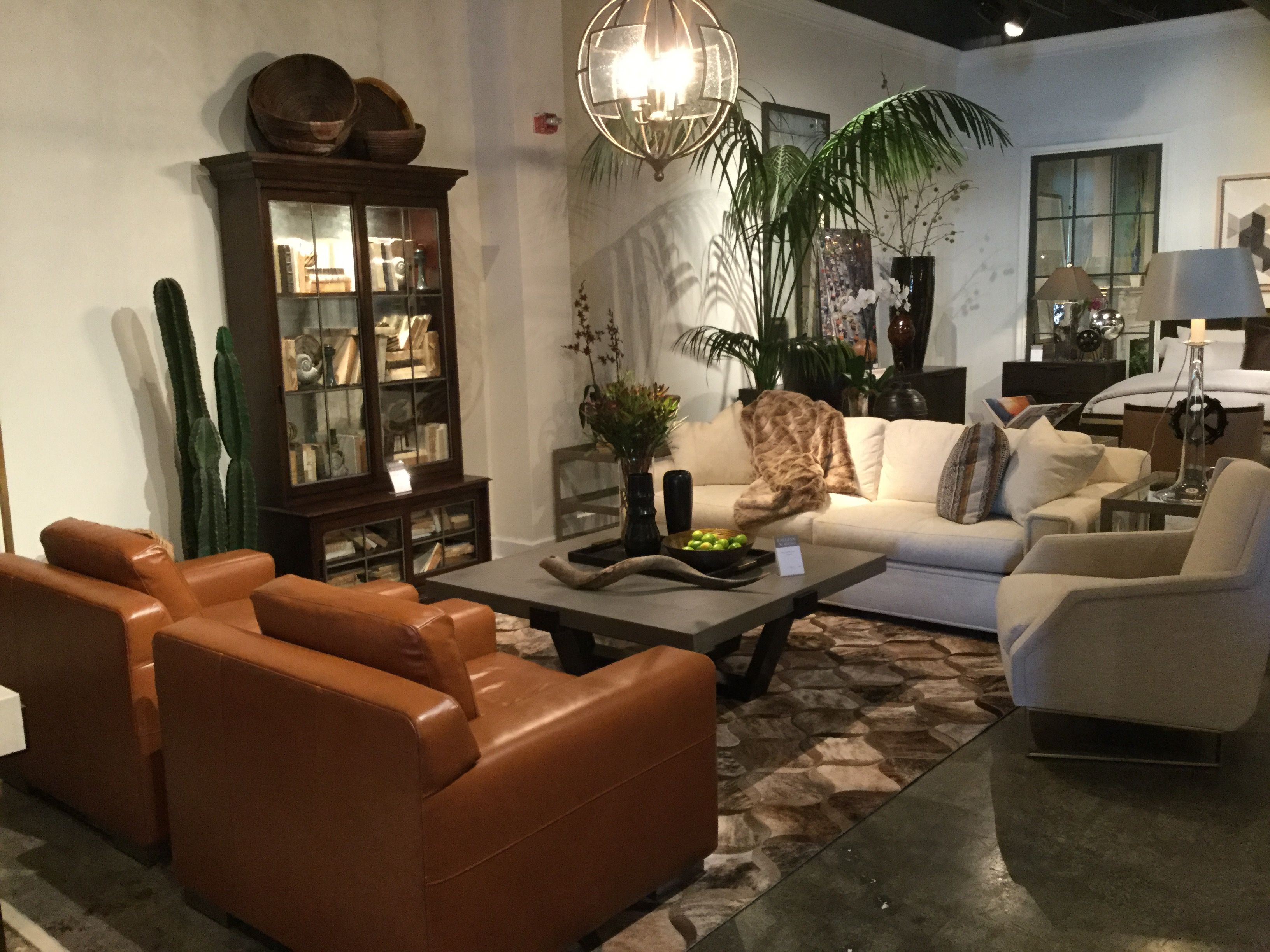 More Great Finds From High Point Market The World S Home For Furnishings We Loved This Beautifully Staged Living Room With Hand Crafted And