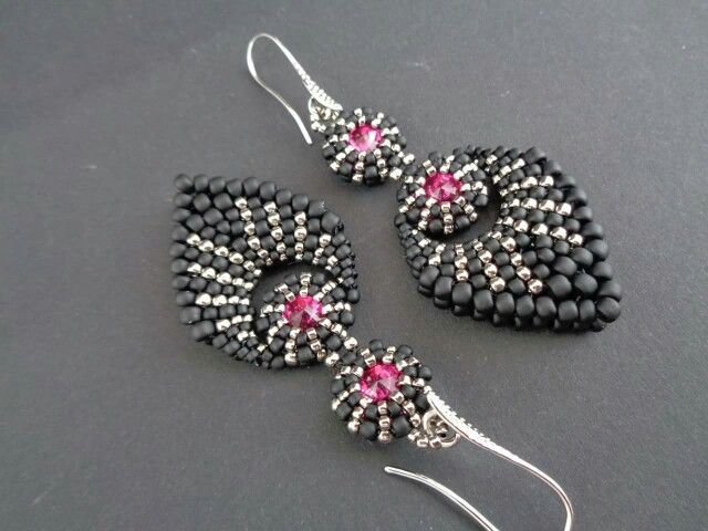 com free earrings you beading beads bead using seed try have earring to patterns interweave