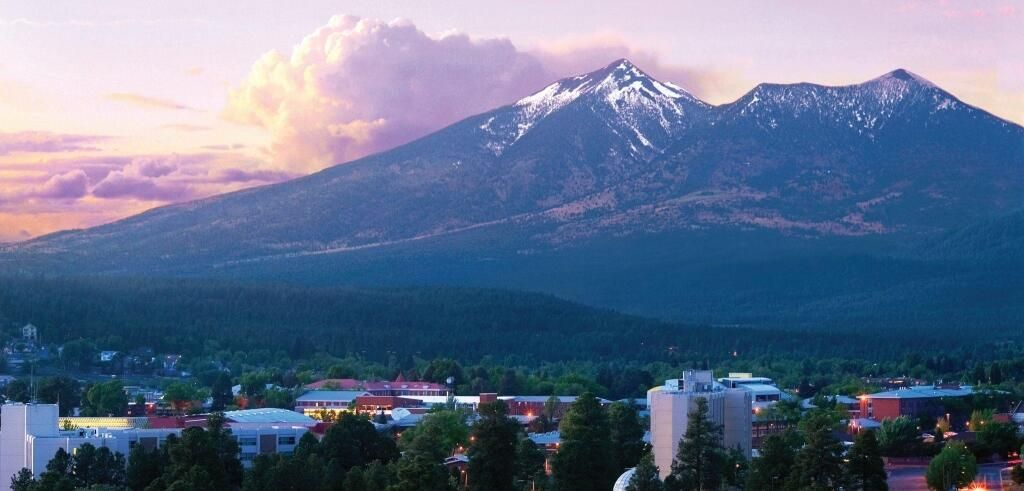 Gorgeous View Of Flagstaff AZ Elevation Almost Feet Above - Elevation in feet above sea level