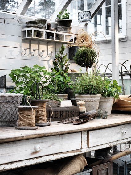 Potting Bench Ideas - Want to know how to build a potting bench? Our ...