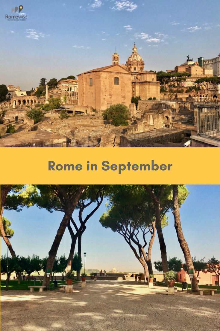 Rome In September Weather In Italy Europe In September Italy In September