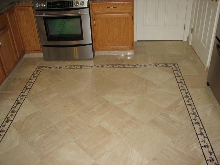 How To Install A Ceramic Tile Floor Kitchen Flooring Flooring Tile Floor