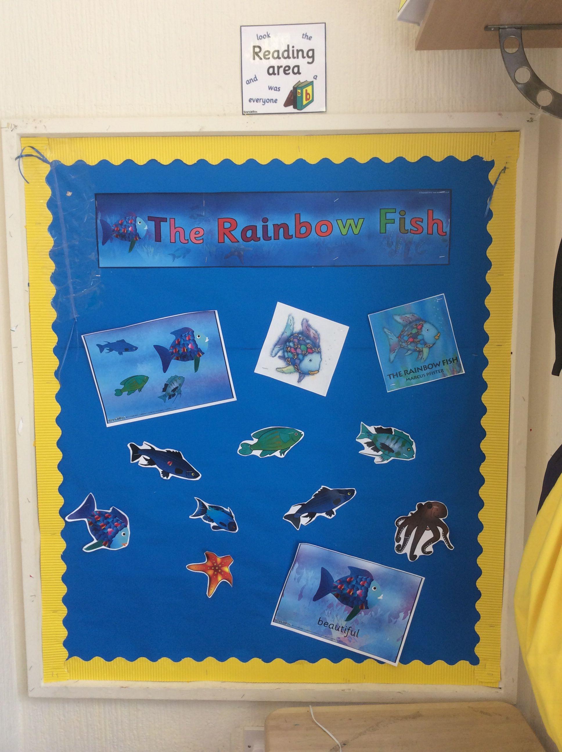 Preschool Classroom Rainbow Fish Reading Area
