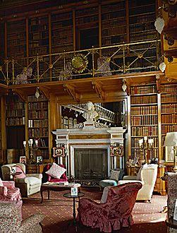 Alnwick Castle Library,