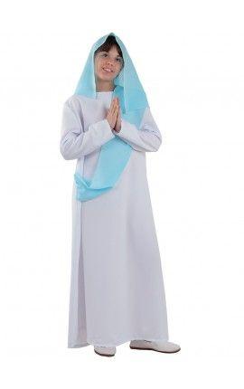 disfraz de virgen mara clsica para nia